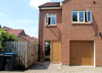 Thumbnail 4 bed semi-detached house to rent in North End, Raskelf, York