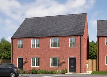 "Thumbnail 3 bed terraced house for sale in ""The Kilmington"" at Brandon Road, Swaffham"