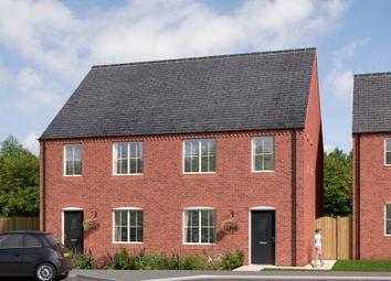 "Thumbnail 3 bedroom terraced house for sale in ""The Kilmington"" at Brandon Road, Swaffham"