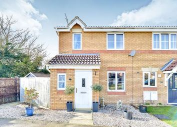 Thumbnail 3 bedroom end terrace house for sale in Moors Close, Deanshanger, Milton Keynes, Northamptonshire
