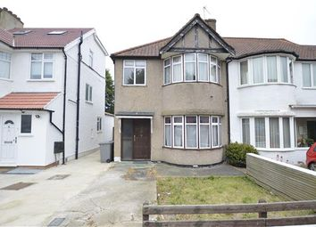 Thumbnail 3 bed end terrace house for sale in Hill View Gardens, London