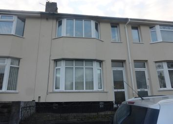 Thumbnail 3 bed terraced house for sale in Carmarthen Road, Swansea