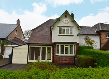 Thumbnail 3 bed detached house for sale in Tixall Road, Hall Green, Birmingham