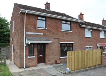 Thumbnail 3 bedroom terraced house to rent in Knocknagoney Avenue, Belfast