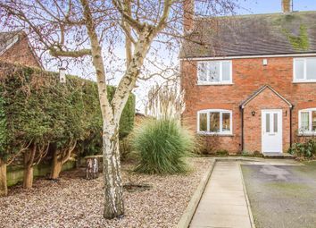 Thumbnail 3 bed end terrace house for sale in Old School Yard, Sapcote, Leicester