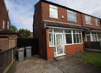 Thumbnail 3 bedroom semi-detached house to rent in St. Georges Road, Stretford, Manchester