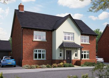 "Thumbnail 5 bed detached house for sale in ""The Truro"" at Nottinghamshire, Edwalton"