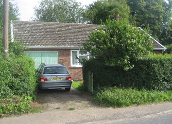 Thumbnail 2 bed bungalow for sale in Dunroamin, Diss Road, Burston, Diss, Norfolk