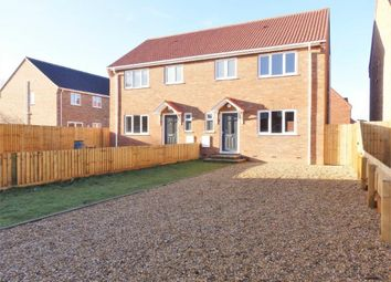 Thumbnail 3 bed semi-detached house for sale in Marsh Lane, King's Lynn