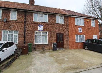 Thumbnail 3 bed terraced house to rent in Wood Lane, Dagenham, Essex
