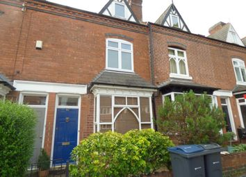 Thumbnail 3 bed terraced house to rent in Regent Road, Harborne, Birmingham