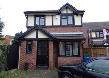 Thumbnail 3 bed detached house for sale in Kestrel Grove, Halewood, Liverpool, Merseyside
