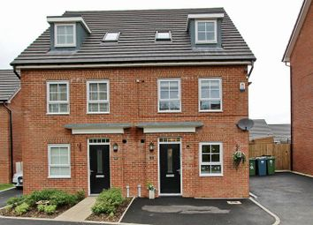 Thumbnail 4 bedroom town house for sale in Lodge Close, Radcliffe, Manchester
