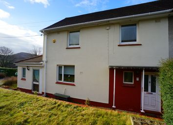 Thumbnail 3 bed semi-detached house for sale in Machen Close, Risca, Newport