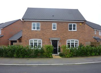 Thumbnail 3 bed detached house for sale in Slate Drive, Burbage, Hinckley