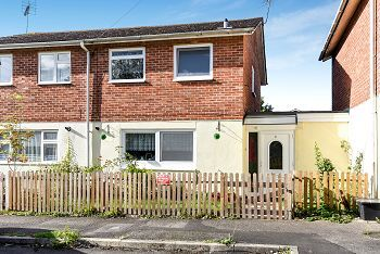 Thumbnail 3 bed semi-detached house for sale in Blackdown Close, Warminster