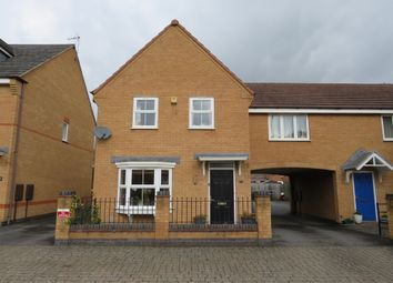 Thumbnail 3 bed link-detached house for sale in Crackthorne Drive, Rugby