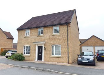 Thumbnail 4 bed detached house for sale in Ruster Way, Hampton Hargate, Peterborough, Cambridgeshire.