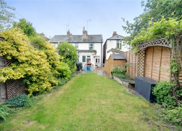 Thumbnail 2 bed end terrace house for sale in Grove Road, Chertsey, Surrey