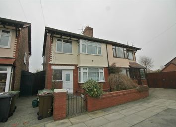 Thumbnail 3 bed semi-detached house for sale in Merton Grove, Crosby, Merseyside