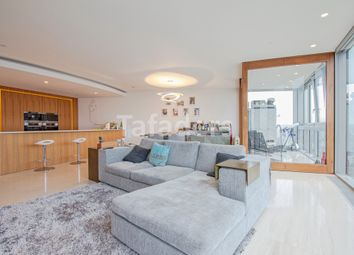 Thumbnail 2 bedroom flat for sale in The Tower, One St Georges Wharf, London