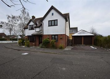 Thumbnail 4 bed detached house for sale in Althorne Close, Basildon, Essex