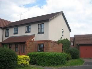 Thumbnail 2 bed property to rent in Yealm Close, Didcot
