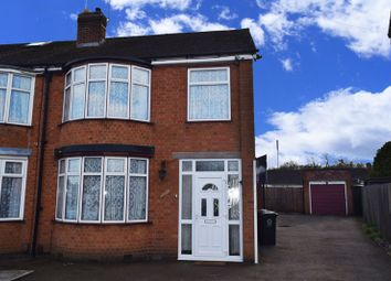 Thumbnail 3 bed semi-detached house to rent in Northdene Road, Leicester
