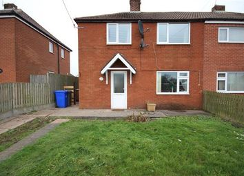 Thumbnail 3 bed semi-detached house for sale in Dimmelow Street, Weston Coyney, Stoke-On-Trent