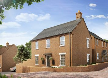 "Thumbnail 3 bed semi-detached house for sale in ""The Radstone Corner Bay"" at Heathencote, Towcester"