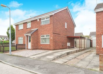 Thumbnail 2 bed semi-detached house for sale in Gillamoor Close, Hull