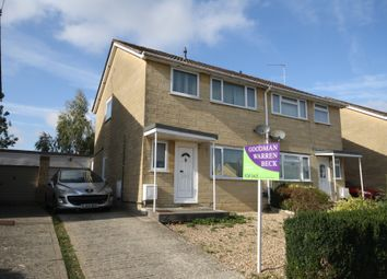 Thumbnail 3 bed semi-detached house to rent in Kent Close, Chippenham