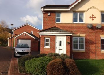 Thumbnail 3 bedroom semi-detached house to rent in Moat House Way, Conisbrough