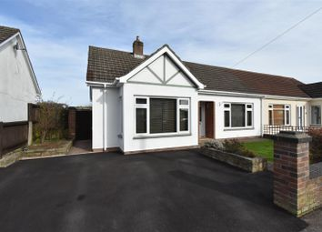 Thumbnail 2 bed semi-detached bungalow for sale in Severn Avenue, Tutshill, Chepstow