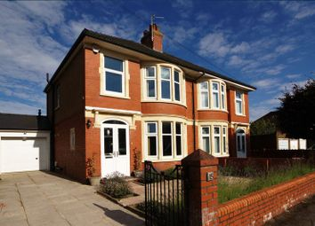 Thumbnail 3 bedroom semi-detached house for sale in Heol Madoc, Whitchurch, Cardiff