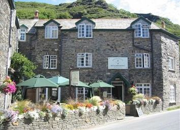 Thumbnail Restaurant/cafe for sale in Bridge House, The Bridge, Boscastle, Cornwall