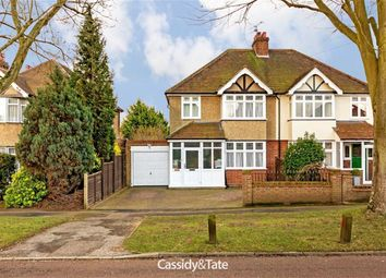 Thumbnail 3 bed semi-detached house for sale in 132 Green Lane, St Albans, Hertfordshire