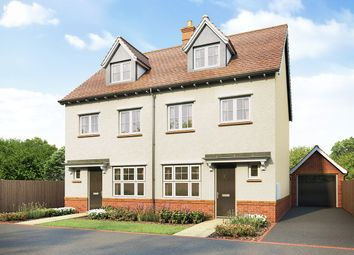 """Thumbnail 4 bed semi-detached house for sale in """"Blackmore"""" at Hatfield Road, Witham"""