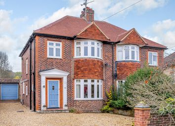 Thumbnail 3 bed semi-detached house for sale in Woodlands Avenue, Farnham