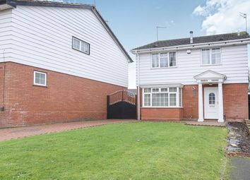 Thumbnail 4 bed detached house for sale in Marlborough Gardens, Wolverhampton