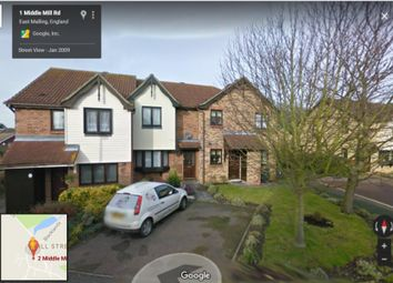 Thumbnail 2 bed terraced house to rent in Middle Mill Road, East Malling, West Malling