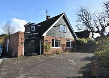 Thumbnail 3 bedroom detached house for sale in Hampstead Norreys Road, Hermitage, Thatcham