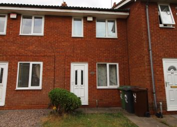 Thumbnail 2 bed terraced house for sale in Warmley Close, Wolverhampton