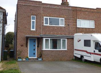 Thumbnail 3 bed semi-detached house for sale in Jubilee Avenue, Rustington, Littlehampton