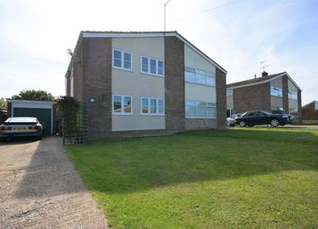Thumbnail 4 bedroom semi-detached house for sale in Lloyds Avenue, Kessingland, Lowestoft