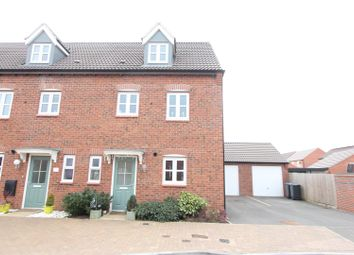 Thumbnail 4 bed town house for sale in Lockeymead Drive, Desford, Leicester