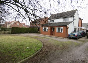 Thumbnail 3 bed detached house for sale in Grantham Road, Waddington, Lincoln