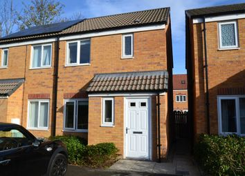 Thumbnail 2 bed semi-detached house for sale in Northfield Avenue, South Kirkby, Pontefract