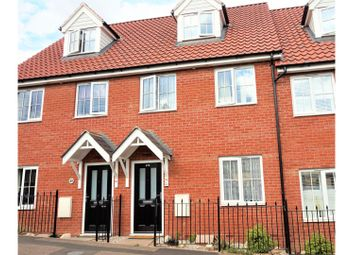 Thumbnail 3 bed terraced house for sale in Humphry Road, Sudbury