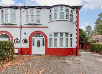 Thumbnail 4 bed semi-detached house for sale in Alexandra Road South, Whalley Range